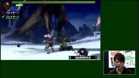 Monster Hunter 4G - TGS 2014 Seregios (Steve) Gameplay
