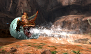 MH4U-Tigerstripe Zamtrios Screenshot 005