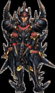 FrontierGen-Akamuto G Armor (Blademaster) (Female) Render 001