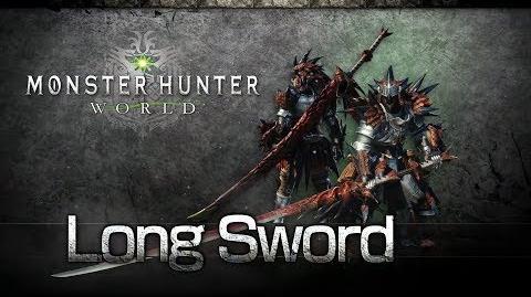 Video monster hunter world long sword overview for Decoration list monster hunter world