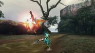 MH3U-Crimson Qurupeco Screenshot 004