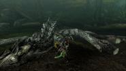 MHP3-Silver Rathalos Screenshot 024