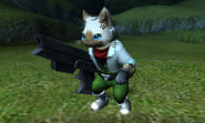 MHGen-Star Fox Collaboration Screenshot 001