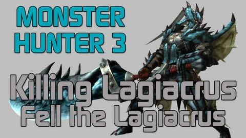 Monster Hunter 3 Ultimate - Low Rank Quest - Lagiacrus - Fell the Lagiacrus