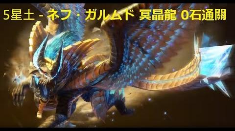 【MHXR】 ★5新土 「強襲!ネフ・ガルムド」冥晶龍 0石通關 2回1迅太1探銃- Monster Hunter Explore モンハン 怪物獵人