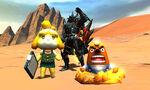 MH4U-Animal Crossing New Leaf x MH4U Screenshot 001