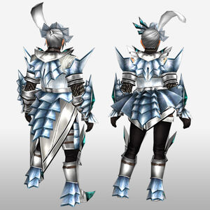 FrontierGen-Akura U Armor 002 (Blademaster) (Back) Render