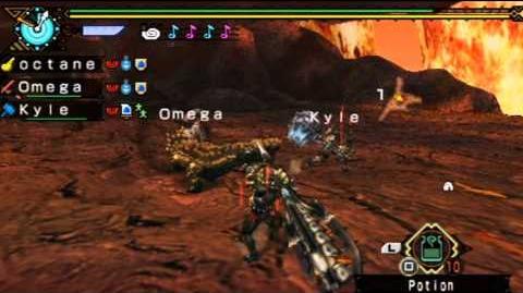 Monster Hunter Portable 3rd - Online Download Quest Mini Crimson Qurupeco