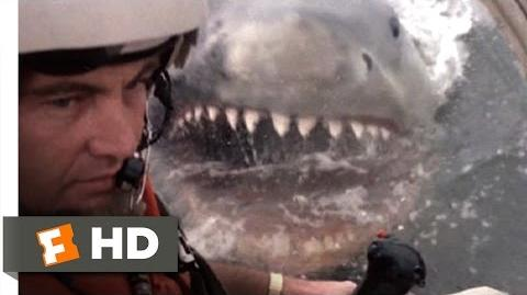 Jaws 2 (8 9) Movie CLIP - Helicopter Attack (1978) HD