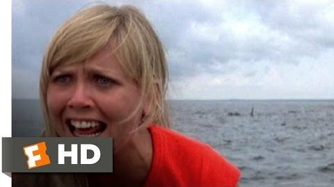 Jaws 2 (6 9) Movie CLIP - Swim Faster (1978) HD
