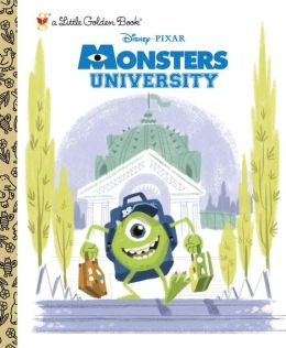 MonstersUniversityLittleGoldenBook