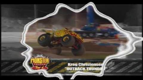 Monster Truck Promotions Australia - Outback Thunda
