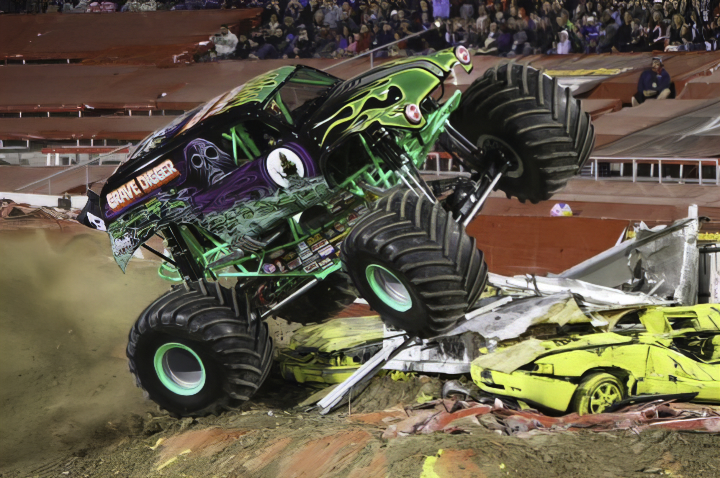 grave digger monster trucks wiki fandom powered by wikia. Black Bedroom Furniture Sets. Home Design Ideas