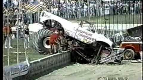 Tropical Thunder 1992 Catch Fence Crash