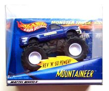 2001 Mattel Hot Wheels Monster Truck Mountaineer