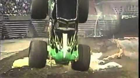 Grave Digger crash in Providence RI 1992