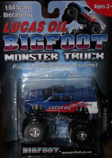 Bigfoot toy raffle prize