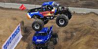 Robby Gordon's Stadium Monster Trucks