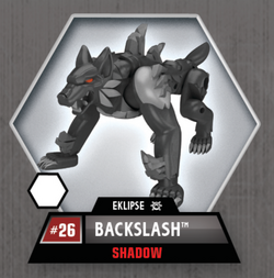Backslash Shadow toy
