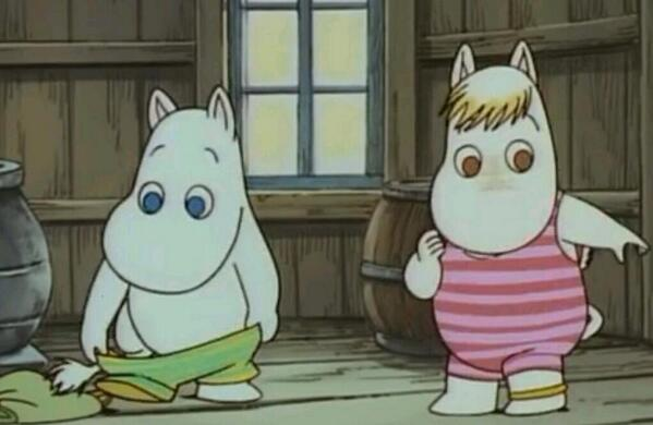 File:Moomintroll and Snorkmaiden Ready to Swim.jpeg