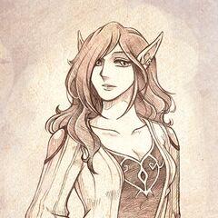 Seleste during her living years.