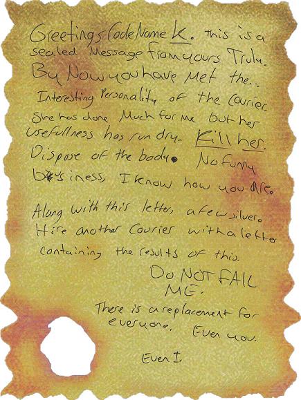 Strange Note