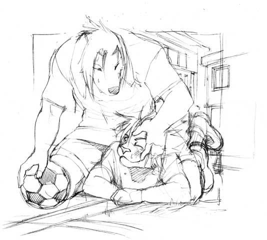 File:Kyouji and Soutarou by ShoK.jpg