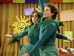 Mork and Mindy Robin Williams Gina Hecht