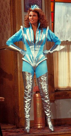 Raquel Welch as Captain Nirvana of the Necrotons in Mork & Mindy