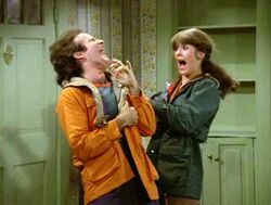 Mork and Mindy Robin Williams Pam Dawber Morkville Horror