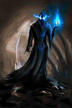 Dark wizard Phaedon