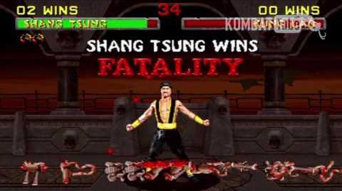 "MK II Shang Tsung ""Inner Explosion"" Fatality"
