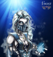 Frost from mortal kombat by zupano-d3rhk6l