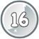 Level 16 icon