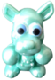 Rooby figure pearl green