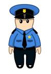 Cuddly Policeman
