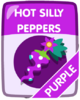 Purple Hot Silly Peppers