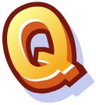 WallScrawl Alphabet - Q