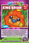 Collector card s11 king brian