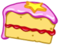 Egg Hunt food Fairy Cake