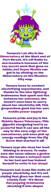 Tamara Tesla lab secrets