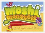 Moshi Monsters Postcard - Wish You Were Here