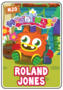 Collector card s3 roland jones