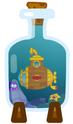 Submarine In A Bottle