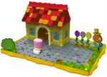 Bobble Bots playset Moshi Monsters House