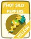 Yellow Hot Silly Peppers