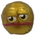 Rocko figure gold
