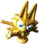 Bruce figure gold