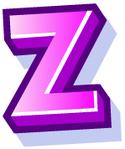 WallScrawl Alphabet - Z