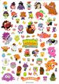 Issue 60 sticker sheet 1